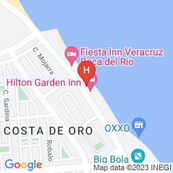 Karte FIESTA INN VERACRUZ BOCA DEL RIO