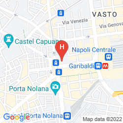 Karte B&B HOTEL NAPOLI