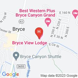 Karte BRYCE VIEW LODGE