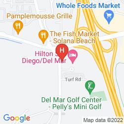 Karte HILTON SAN DIEGO DEL MAR
