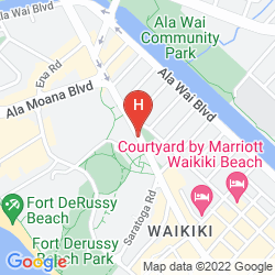 Karte LUANA WAIKIKI HOTEL & SUITES
