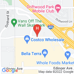 Karte HUNTINGTON BEACH HOTEL