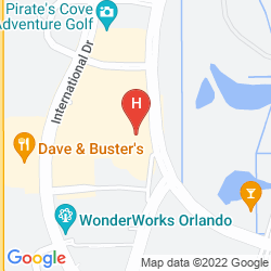 Karte SPRINGHILL SUITES ORLANDO CONVENTION CENTER-INTERNATIONAL DRIVE AREA