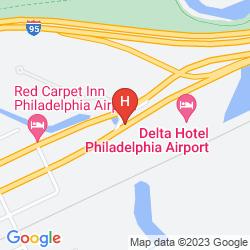 Karte RENAISSANCE PHILADELPHIA AIRPORT