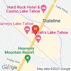 Karte HARVEYS LAKE TAHOE CASINO & RESORT