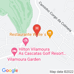Karte HILTON VILAMOURA AS CASCATAS GOLF RESORT & SPA