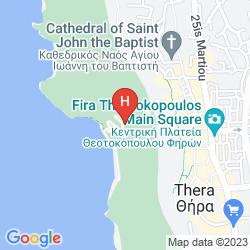 Karte NISSOS THIRA