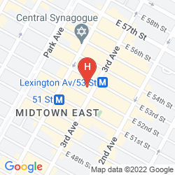 Karte  COURTYARD BY MARRIOTT NEW YORK MANHATTAN/MIDTOWN EAST