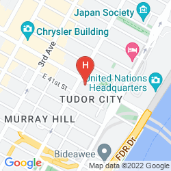Karte WESTGATE NEW YORK GRAND CENTRAL