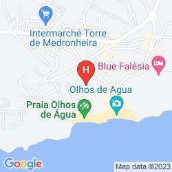 Karte APARTAMENTOS DO PARQUE