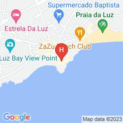 Karte BAIA DA LUZ