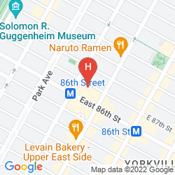 Karte VOCO THE FRANKLIN NEW YORK
