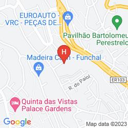 Karte QUINTA JARDINS DO LAGO