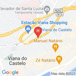 Karte CASA MELO ALVIM