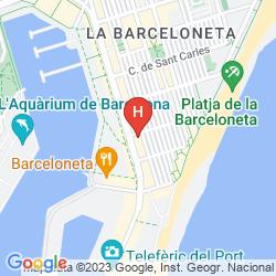 Karte 54 BARCELONETA