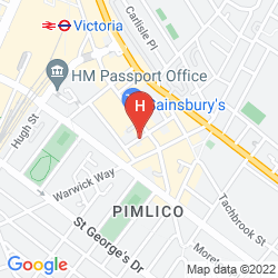Karte CHESTER HOTEL VICTORIA