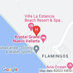 Karte VILLA DEL PALMAR FLAMINGOS BEACH RESORT & SPA