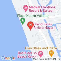 Karte GRAND VELAS ALL SUITES & SPA HOTEL ALL INCLUSIVE