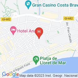 Karte LA CAROLINA