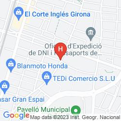 Karte APARTAMENTOS ELS QUIMICS