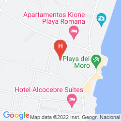 Karte ALCALA BLAU
