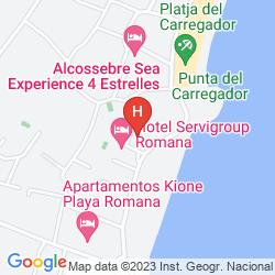 Karte RESIDENCIAL CASABLANCA