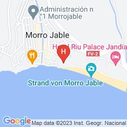 Karte XQ EL PALACETE