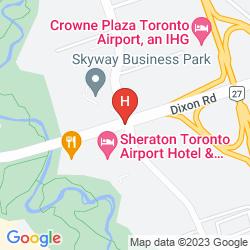 Karte SHERATON TORONTO AIRPORT HOTEL & CONFERENCE CENTRE