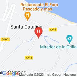 Karte CASA RURAL ONDINA