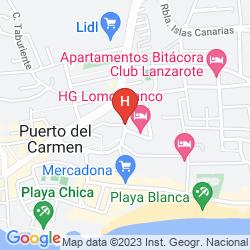 Karte APARTAMENTOS CLUB LAS VISTAS