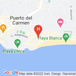 Karte SUITE HOTEL FARIONES PLAYA