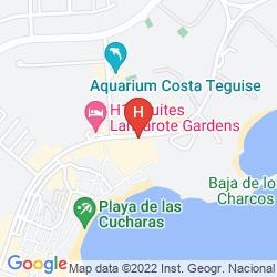 Karte APARTAMENTOS CELESTE