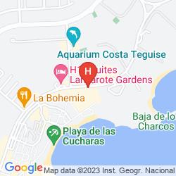 Karte APARTAMENTOS GALEON PLAYA