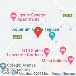 Karte APARTAMENTOS LOS FICUS