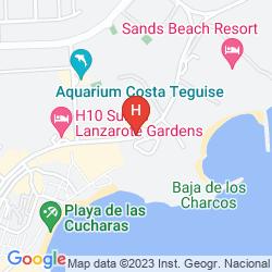 Karte LOS ZOCOS CLUB RESORT