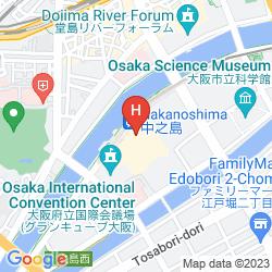 Karte RIHGA ROYAL HOTEL OSAKA