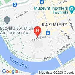 Karte THE SECRET GARDEN HOSTEL