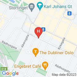 Karte FIRST HOTEL MILLENNIUM