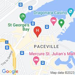 Karte THE ST. GEORGE'S PARK