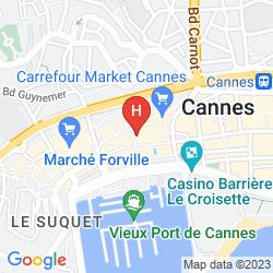 Karte DES ALLEES
