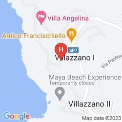 Karte VILLA PINA ANTICO FRANCISCHIELLO