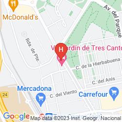 Karte VP JARDIN DE TRES CANTOS