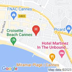 Karte RESIDEAL PREMIUM CANNES