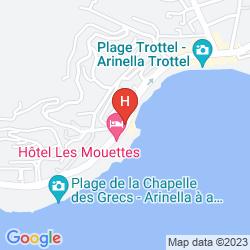 Karte LES MOUETTES