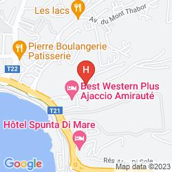 Karte SPUNTA DI MARE