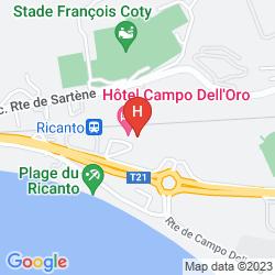 Karte CAMPO DELL ORO