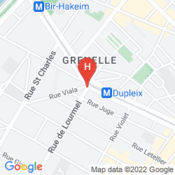 Karte EIFFEL PETIT LOUVRE