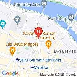 Karte PRINCE DE CONDE