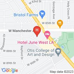 Karte CUSTOM HOTEL