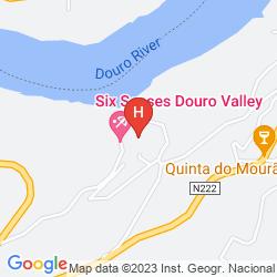 Karte SIX SENSES DOURO VALLEY